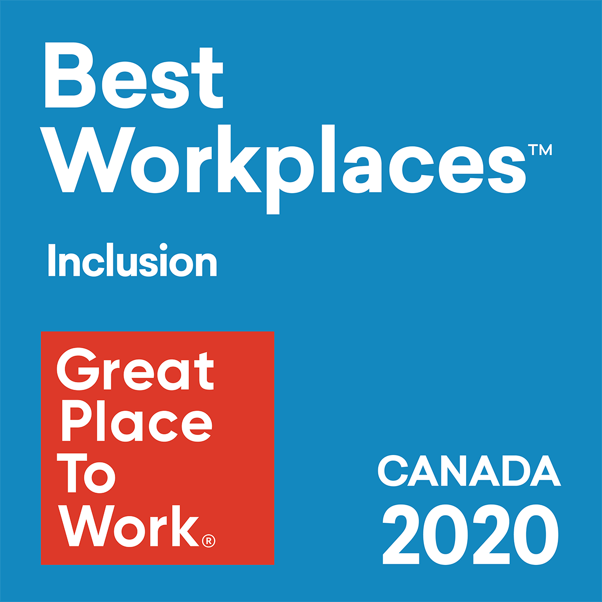 Great Place To Work 2020: Inclusion