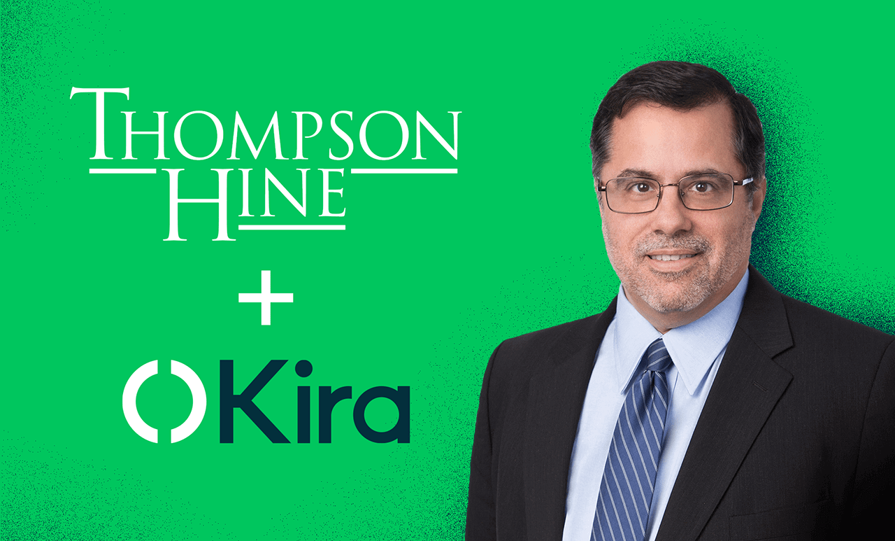 Read the blog article: Thompson Hine Leverages AI Platform Kira as Part of its Focus on Continuous Innovation